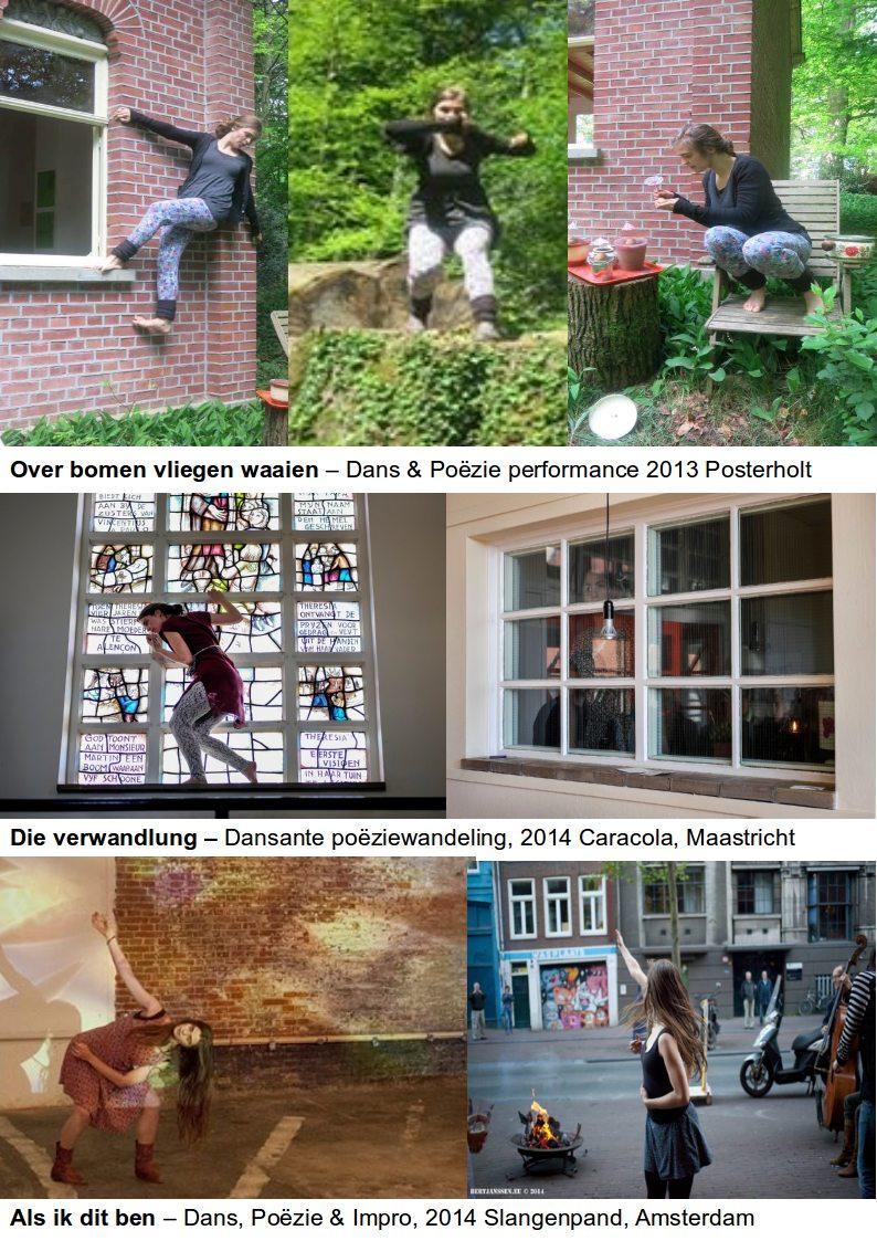 Dans & Poëzie Performance